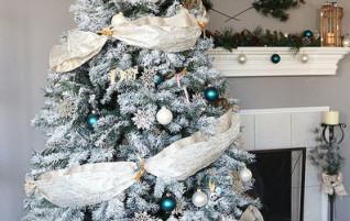 Wie ein künstlicher Weihnachtsbaum schmücken