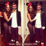 Микки и Минни Маус - костюм для пары на Хэллоуин