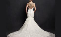 Meerjungfrau Brautkleid mit schleppe 77